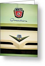 Ford V8 Pickup Emblem Greeting Card