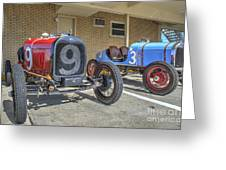 Fords 9 And 3 Greeting Card