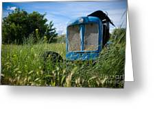 Fordson Deisel Greeting Card