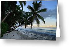Forest Beach 2 Greeting Card