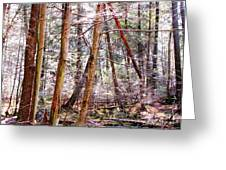 Forest Bling Greeting Card