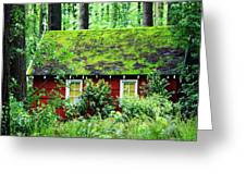 Forest Chapel Greeting Card