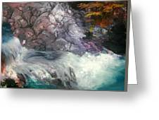 Forest Creek Greeting Card