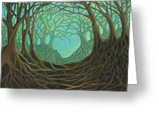 Forest Dream Greeting Card