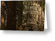 Forest Face Greeting Card