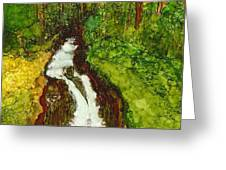 Forest Fall Greeting Card
