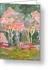 Forest Fantasies Greeting Card