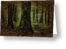Forest Fantasy Greeting Card