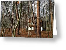 Forest House Greeting Card