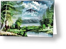 Forest Impression 18 Greeting Card