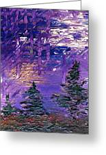 Forest In Lsd Greeting Card