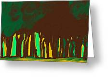 Forest In The Hidden Greeting Card