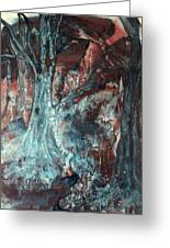 Forest Of A Different Color Greeting Card