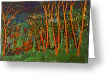 Forest Of Morpheus Greeting Card
