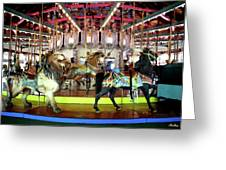Forest Park Carousel Greeting Card
