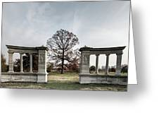 Forest Park Columns Greeting Card