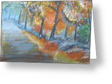 Forest Path.... Greeting Card