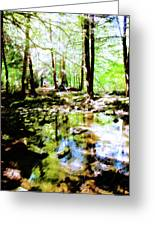 Forest People Greeting Card