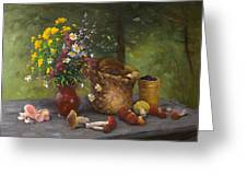 Forest Still Life Greeting Card