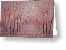 Forest Stillness. Greeting Card