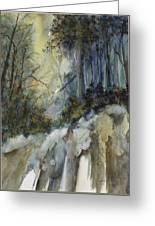 Forest Unknown Greeting Card