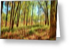 Forest Vision Greeting Card