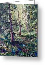 Forest Wildflowers Greeting Card