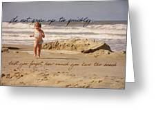 Forever Young Quote Greeting Card