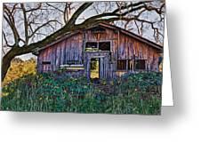 Forgotten Barn Greeting Card by Garry Gay
