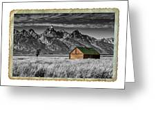 Forgotten Cabin Greeting Card