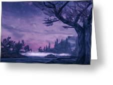 Forgotten Dreams Greeting Card
