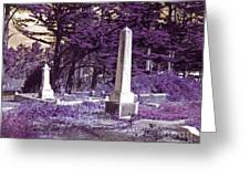 Forgotten Monuments Greeting Card