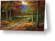 Forgotten Road Greeting Card