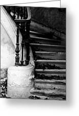 Forgotten Stairs Greeting Card by Georgia Fowler