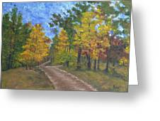 Fork In The Path Greeting Card