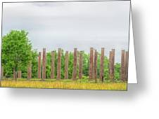 Forks Of Cypress Greeting Card