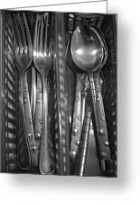 Forks...n...spoons Greeting Card