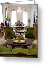 Formal Dining Room Greeting Card