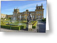 Formal Garden Blenheim Palace Greeting Card by Joe Winkler