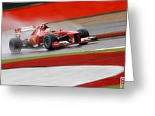 Formula 1 British Grand Prix Greeting Card