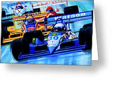 Formula 1 Race Greeting Card