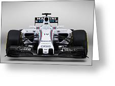 Formula 1 Williams Fw37 Greeting Card