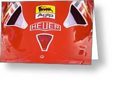 Formula Red Greeting Card
