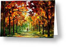 Forrest Of Dreams Greeting Card
