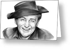 Forrest Tucker Greeting Card