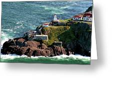 Fort Amherst At St. Johns New Foundland Greeting Card