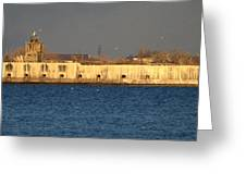 Fort Carroll Patapsco River Maryland Greeting Card