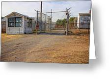 Fort Chaffee Prison Greeting Card