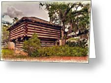 Fort Christmas Florida Greeting Card