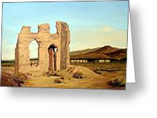 Fort Churchill Nevada Greeting Card by Evelyne Boynton Grierson